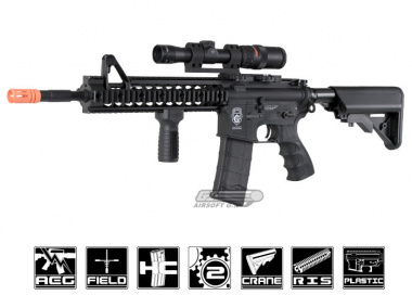 G&G GR15 Raider XL Electric Blow Back AEG Airsoft Gun ( Blk / XL )