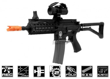 G&G GR4 100Y Plastic Blow Back Folding Stock AEG Airsoft Gun