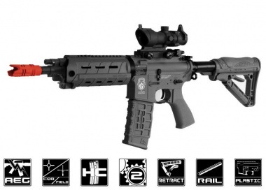 G&G GR4 G26 w/ Built-In Laser & Light Blow Back AEG Airsoft Gun ( Black )