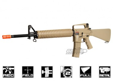 G&G Full Metal TR16 A2 Rifle Desert Tan AEG Airsoft Gun