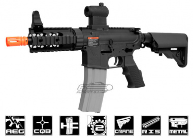 G&G Full Metal TR16 CQW Blow Back AEG Airsoft Gun