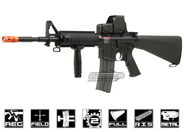 G&G Full Metal TR16 R4 Blow Back AEG Airsoft Gun