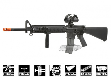 G&G Full Metal TR16 R5 Blow Back AEG Airsoft Gun