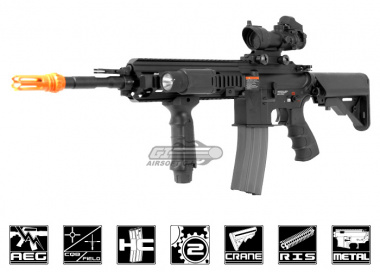 G&G Top Tech Full Metal TR4-18 Carbine AEG Airsoft Gun