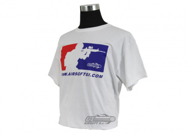 Airsoft GI Major League Safety & Respect T-Shirt ( White / L )