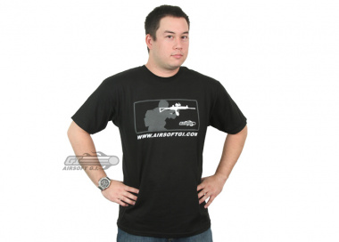 Airsoft GI Major League T-Shirt ( Sponsored Special Edition )