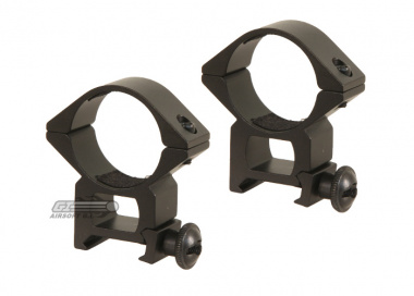 Airsoft GI High Profile 30mm Scope Rings