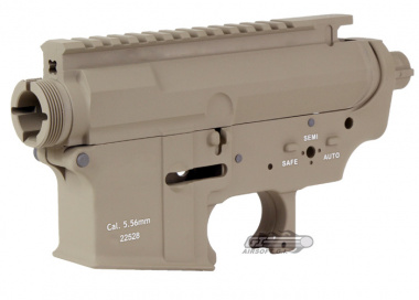 G&P MUR V-Style Metal Body for M4 / M16 ( Sand )