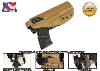 G-Code XST RTI Holster for H&K MK23 ( Right Hand / HOLSTER ONLY ) Coyote