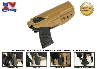 G-Code XST Standard Holster for H&K MK23 ( Non-RTI / Right Hand / HOLSTER ONLY ) Coyote