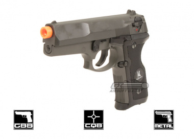 HFC Full Metal HG 160 Semi / Full Auto Pistol GBB Airsoft Gun