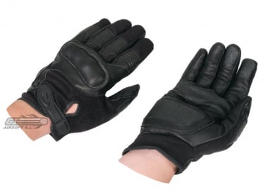 Hatch Reactor Hard Knuckle Gloves ( Black ) Small