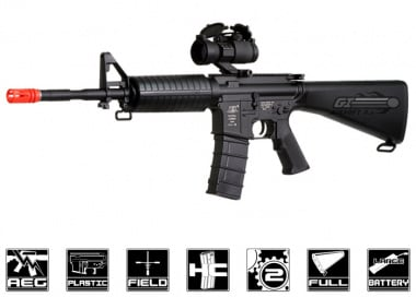 ICS M4 Full Stock Carbine AEG Airsoft Gun
