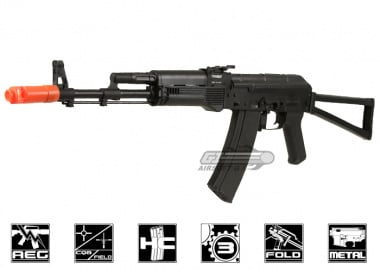 JG Full Metal AK-47S Electric Blow Back AEG Airsoft Gun