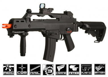 ( Discontinued ) JG MK36C with Crane Stock AEG Airsoft Gun