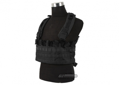J-Tech 1000D Cordura CP-4 Combat Chest Rig ( Black / Tactical Vest  )