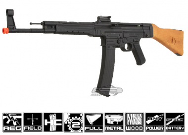 Javelin Airsoft Works Full Metal / Real Wood MP44 AEG Airsoft Gun