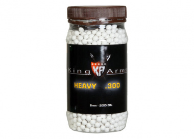 King Arms Precision Heavy Series .30 g ( White ) 2000bbs