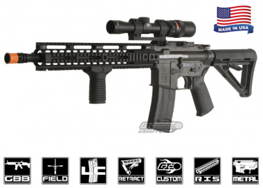 Airsoft GI Full Metal King Arms RAID Carbine GBB Rifle Airsoft Gun