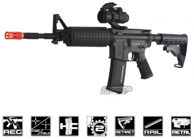 King Arms Full Metal Colt M4-A1 AEG Airsoft Gun