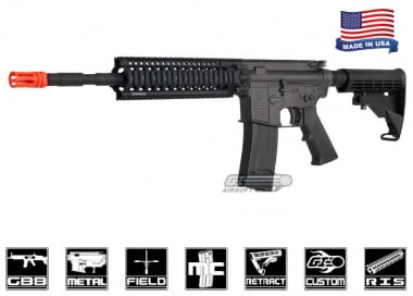 King Arms Colt Full Metal M4 with Daniel Defense Lite Rail Gas Blowback Carbine Airsoft Gun ( Airsoft GI Custom )
