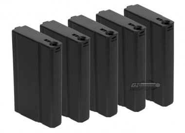 King Arms 110rd M14 Mid Capacity AEG Magazine ( 5 Pack )