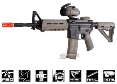 (Discontinued) King Arms Full Metal Colt / Magpul MOE Carbine AEG Airsoft Gun