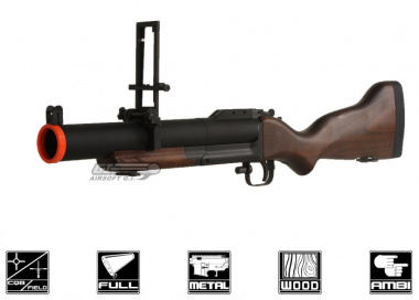 King Arms Metal / Real Wood M79 Airsoft Grenade Launcher