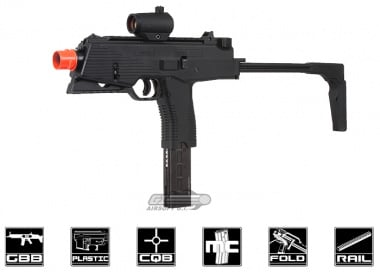KWA KMP9R Gas Blow Back Airsoft Gun ( Railed Ver. / NS2 System )