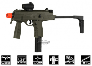 KWA KMP9 Gas Blow Back Airsoft Gun ( Ranger Grey / NS2 System )