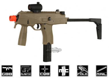 KWA KMP9 Gas Blow Back Airsoft Gun ( Dark Earth / NS2 System )