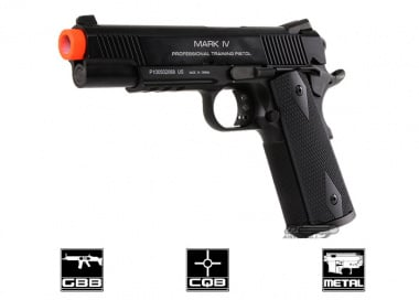 KWA Full Metal M1911 Mark IV PTP Airsoft Gun