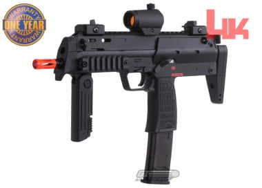 KWA H&K MP7 GBB Pistol Airsoft Gun Licensed by Elite Force ( Black )