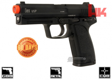 H&K Full Metal USP NS2 GBB Airsoft Gun By KWA
