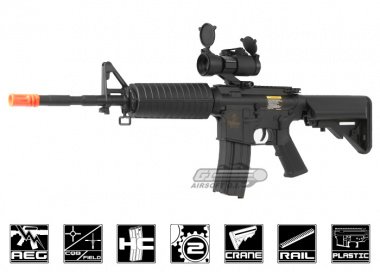 Lancer Tactical M4 A1 Carbine AEG Airsoft Gun