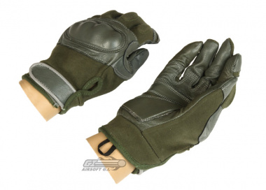 Lancer Tactical Hard Knuckle Gloves ( Sage / Medium )
