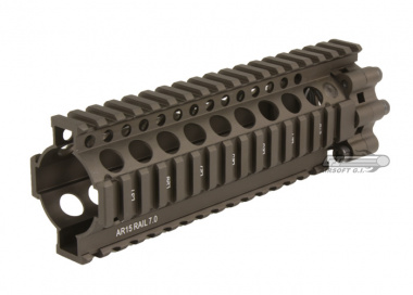 "SOCOM Gear Daniel Defense 7"" Lite RAS Handguard ( Flat Dark Earth )"