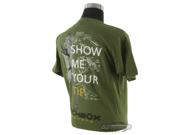 Mechbox Clothing Show Me T-Shirt ( Green / M )