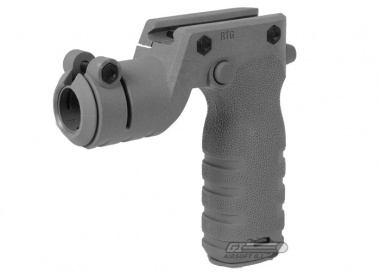 MFT React Torch and Vertical Grip ( Grey )