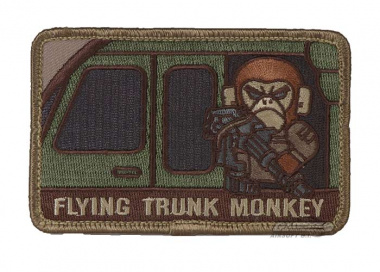 MM Flying Trunk Monkey Velcro Patch ( Multicam )