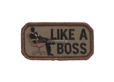 MM Like A Boss Patch ( Forest )