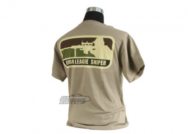 MM Milspec Monkey Major League Sniper T-Shirt ( Tan / XL )