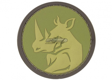 MM Rhino Head PVC Patch ( Multicam )