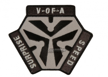 MM Trigger Pull Logo Patch ( SWAT )