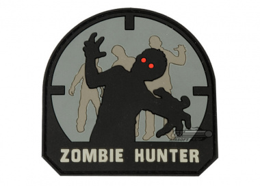 MM Zombie Hunter PVC Patch ( ACU )