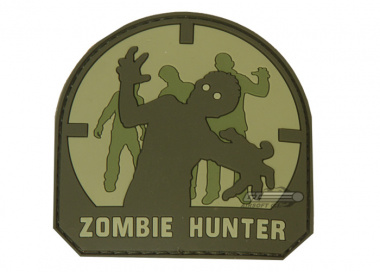 MM Zombie Hunter PVC Patch ( Arid )
