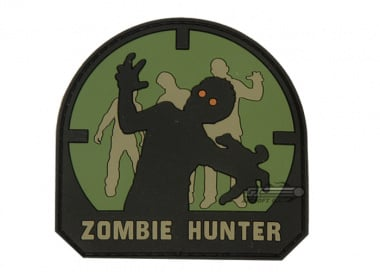 MM Zombie Hunter PVC Patch ( Forest )