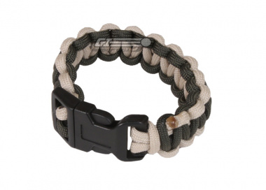 "Mil-Spec Cords Cobra Paracord Bracelets ( OD / TAN / Size 5"" )"