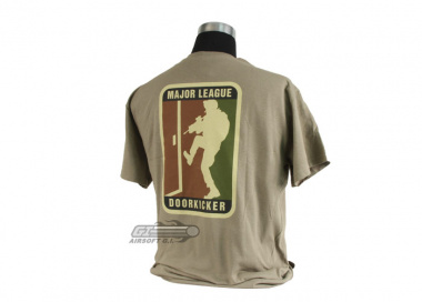 MM Milspec Monkey Major League Doorkicker T-Shirt ( Tan / L )
