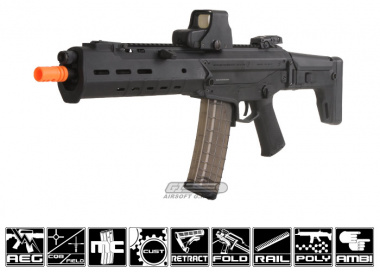 PTS Full Metal Masada AKM AEG Airsoft Gun ( Black )